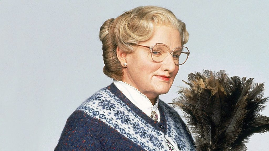 Still from Mrs Doubtfire